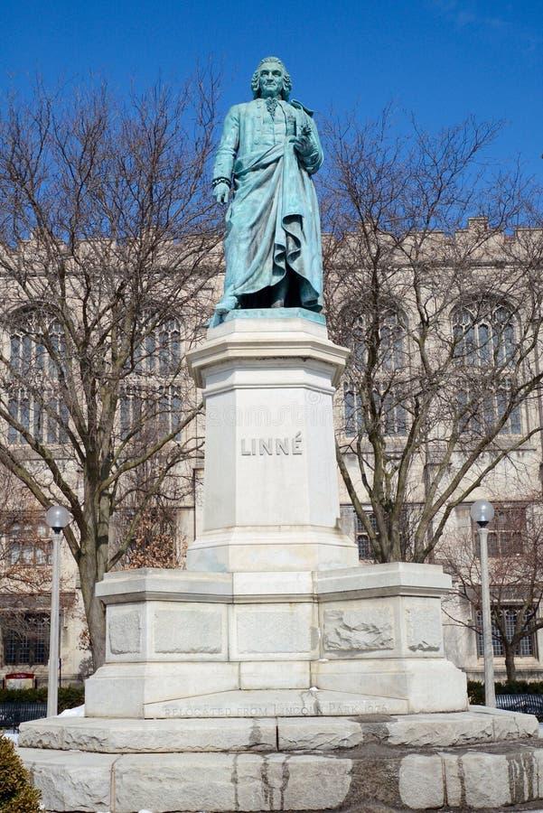 Linne Monument stock afbeeldingen