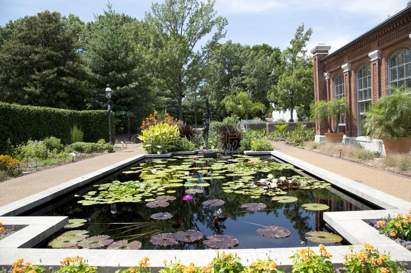 Linnean House in Missouri Botanical Garden ,ST Louis MO royalty free stock photography
