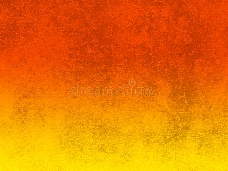 Lino printed texture in graduated orange and yellow stock photography