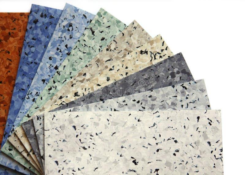 Linoleum stock afbeelding