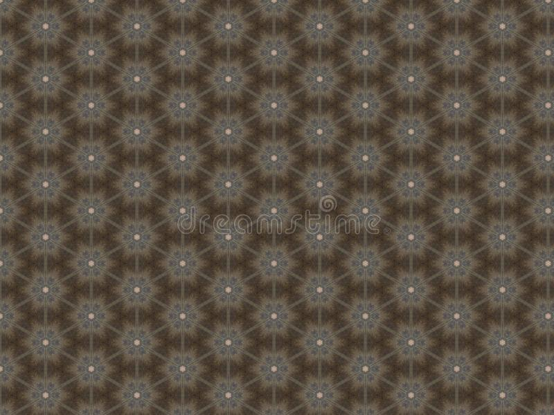 Linoleum på golvet i en form med ett ingrepp som upprepar modellen fotografering för bildbyråer
