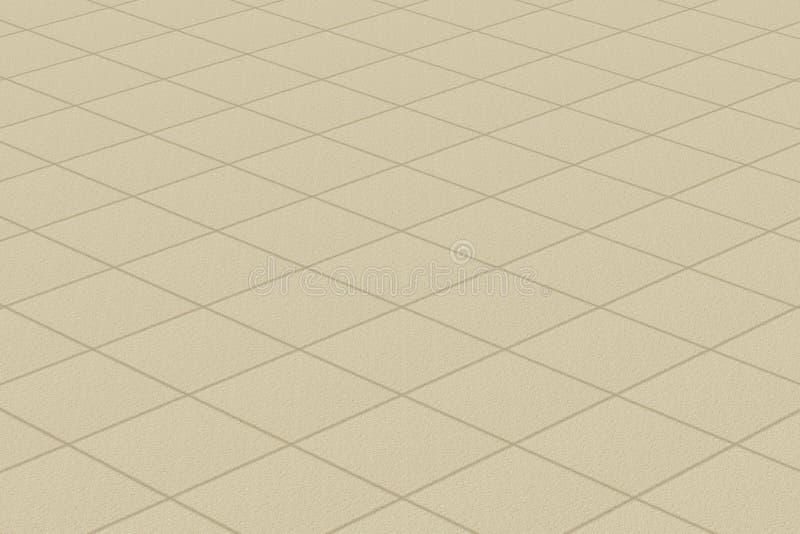 Linoleum/Teppich mit Plaidgeldstrafenbeschaffenheit vektor abbildung