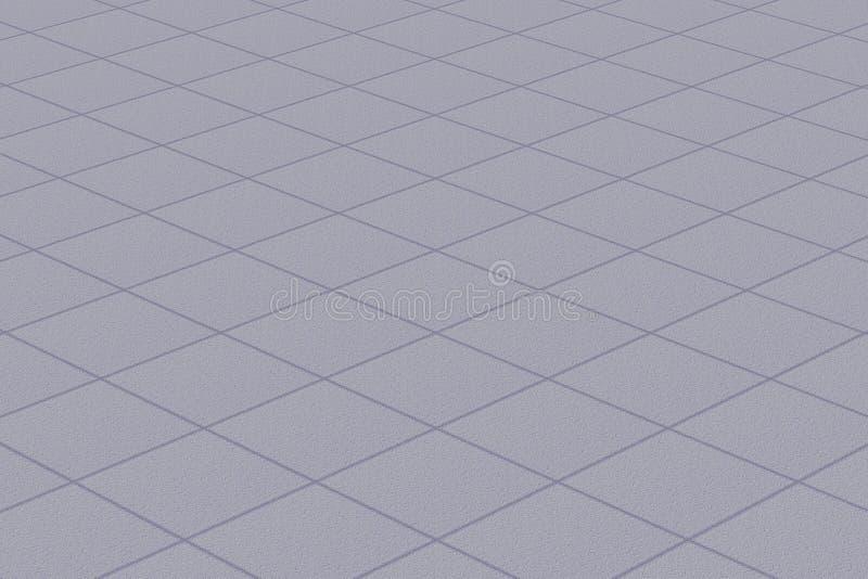 Linoleum/Teppich mit Plaidgeldstrafenbeschaffenheit stock abbildung