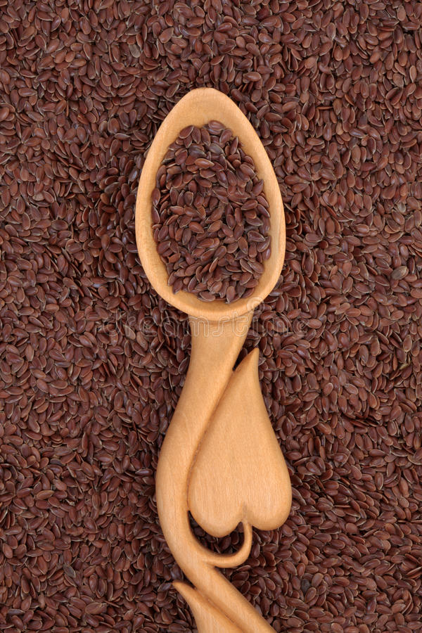 Linseed Royalty Free Stock Photo