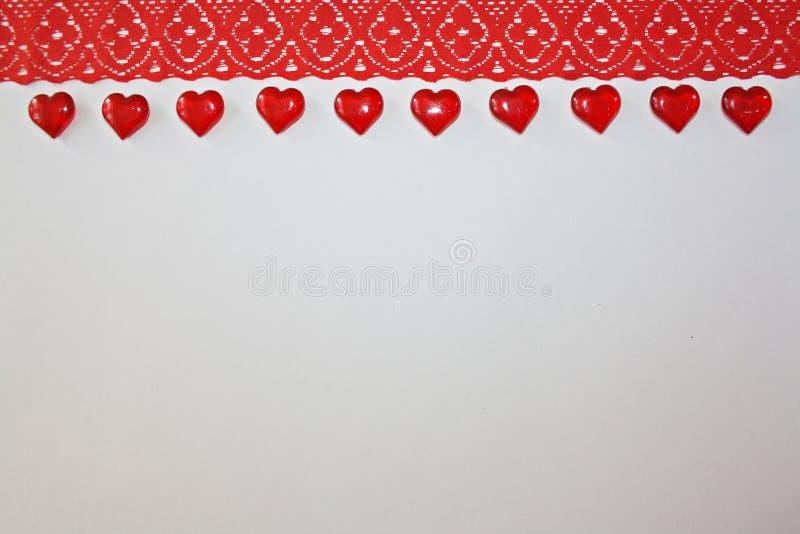 Lint op een witte achtergrond stock afbeeldingen