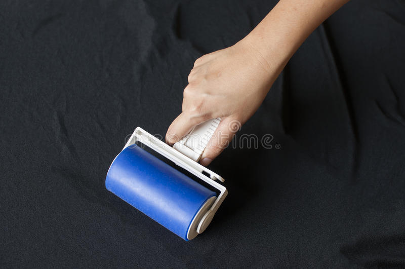 Lint roller royalty free stock images