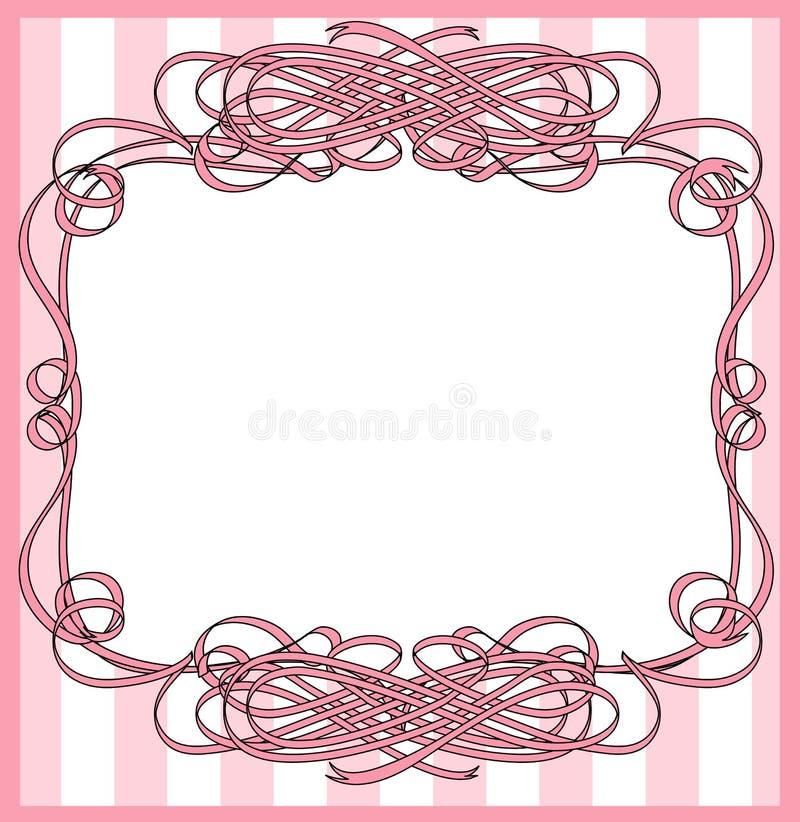 Lint verpakt frame stock illustratie
