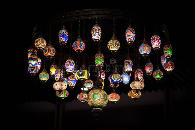 Download Linterna árabe retra foto de archivo. Imagen de mercado - 64204228