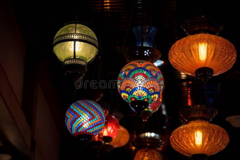 Download Linterna árabe retra foto de archivo. Imagen de azul - 64204246