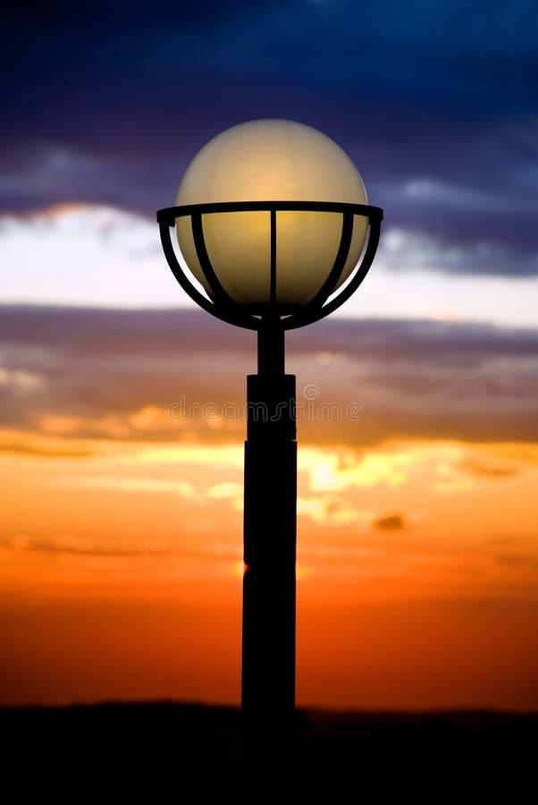 Download Linterna imagen de archivo. Imagen de lámpara, silueta - 7151923