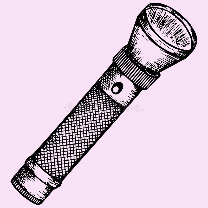 linterna stock de ilustración
