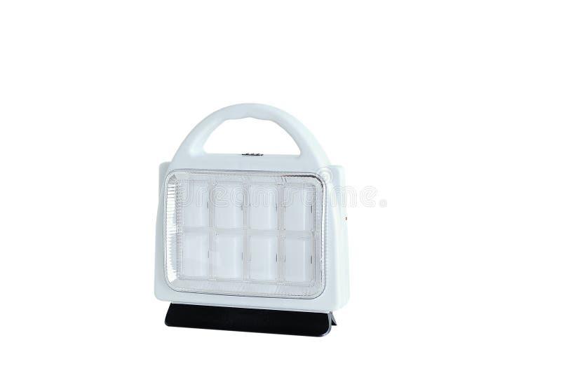 Linterna blanca del LED para acampar fotografía de archivo libre de regalías