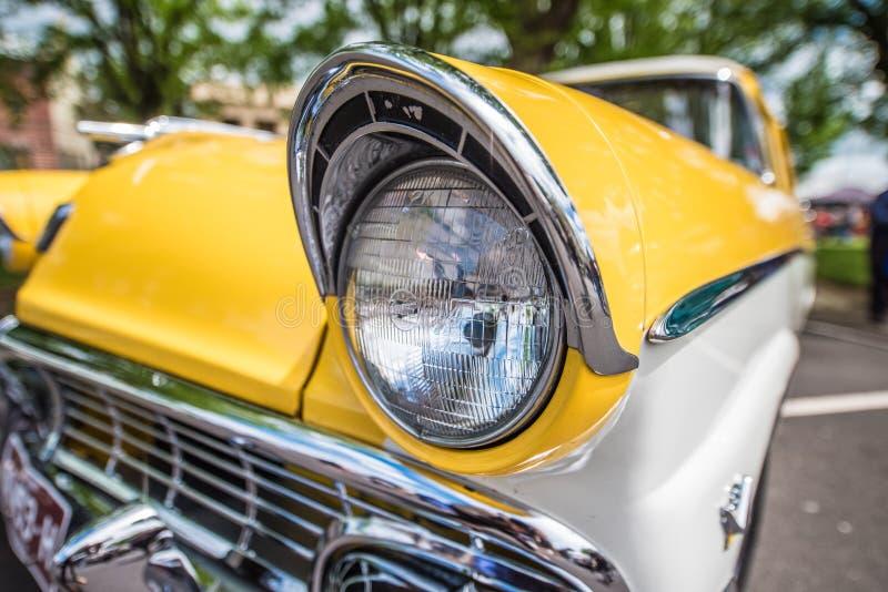 Linterna clásica del coche foto de archivo