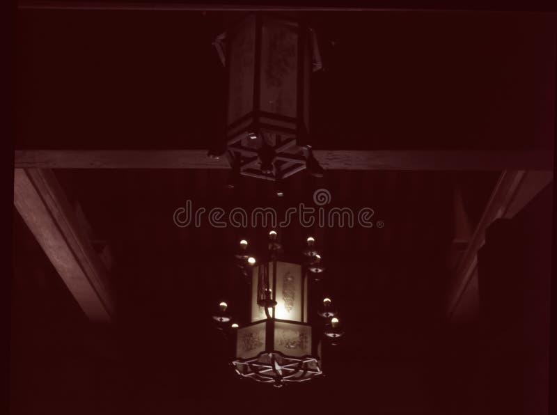Linterna colgante foto de archivo