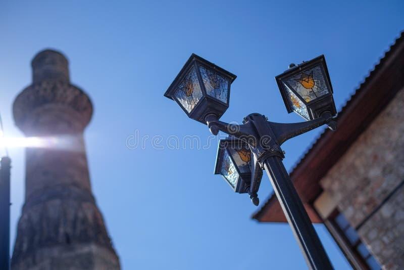Linterna de Antalya foto de archivo libre de regalías