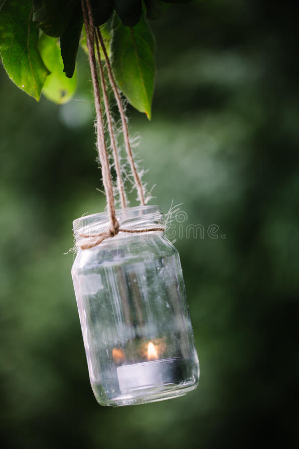 Linterna de DIY fotografía de archivo libre de regalías