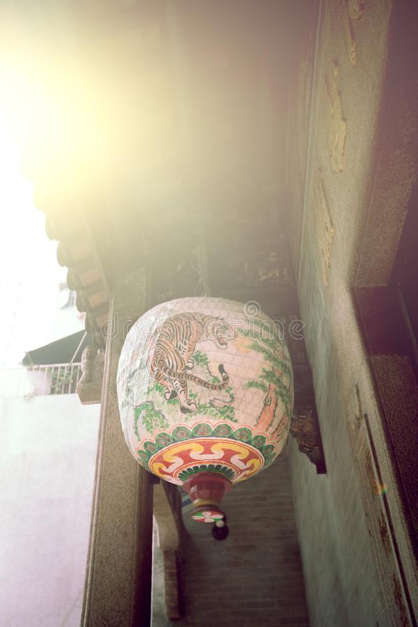 Linterna de papel china fotos de archivo libres de regalías