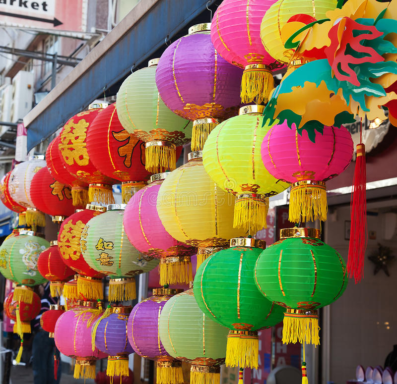 Linterna de papel de chino tradicional imágenes de archivo libres de regalías