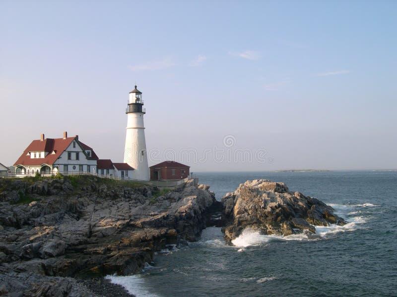 Download Linterna de Portland imagen de archivo. Imagen de coastline - 180647