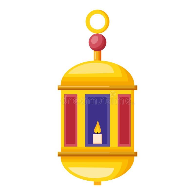 Linterna de Ramadan Kareem ilustración del vector