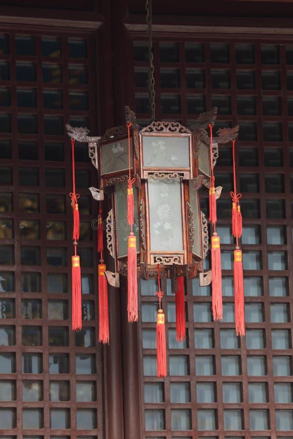 Linterna Del Chino Tradicional Fotografía de archivo