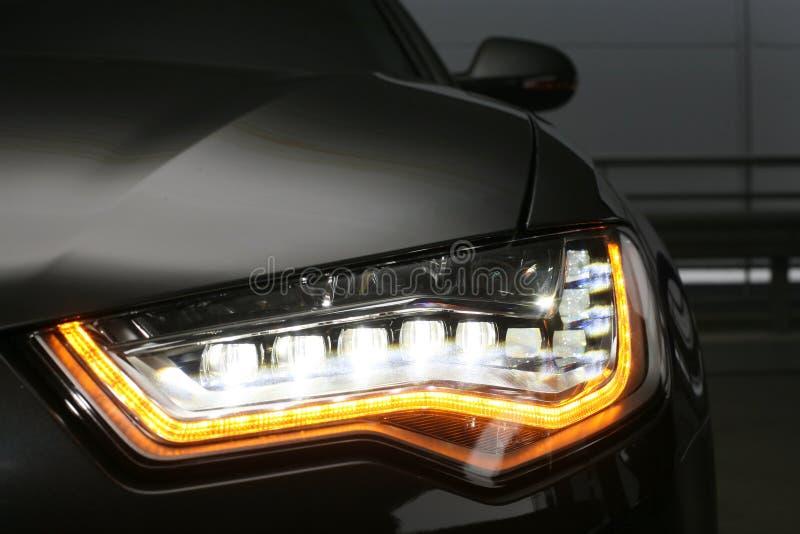 Linterna del cierre prestigioso del coche para arriba imagenes de archivo