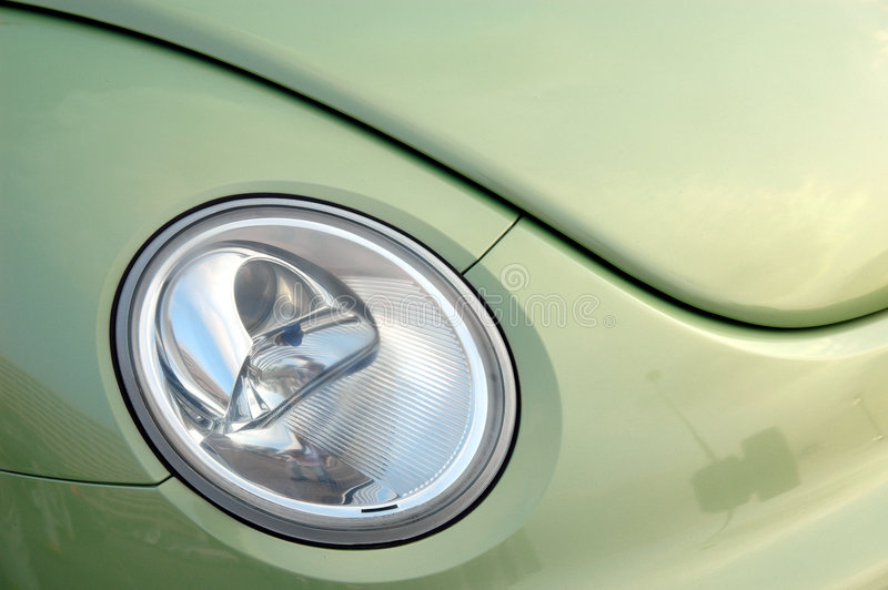 Linterna del coche foto de archivo