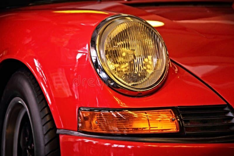 Linterna del coche de deportes clásico fotos de archivo libres de regalías