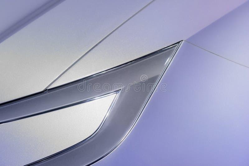 Linterna del coche ultra moderno imagen de archivo