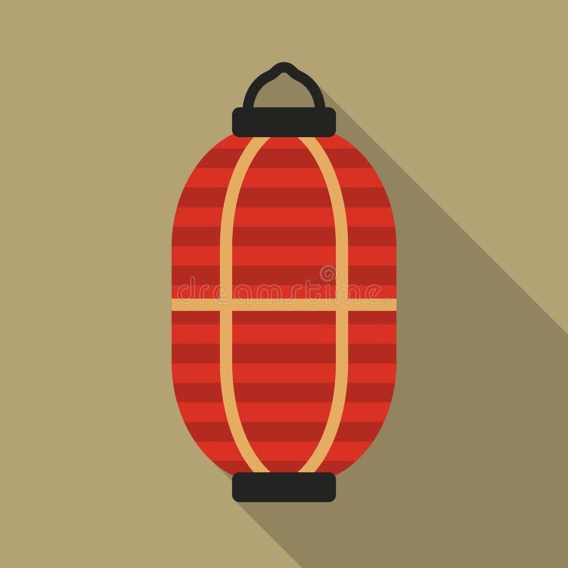 Linterna japonesa stock de ilustración