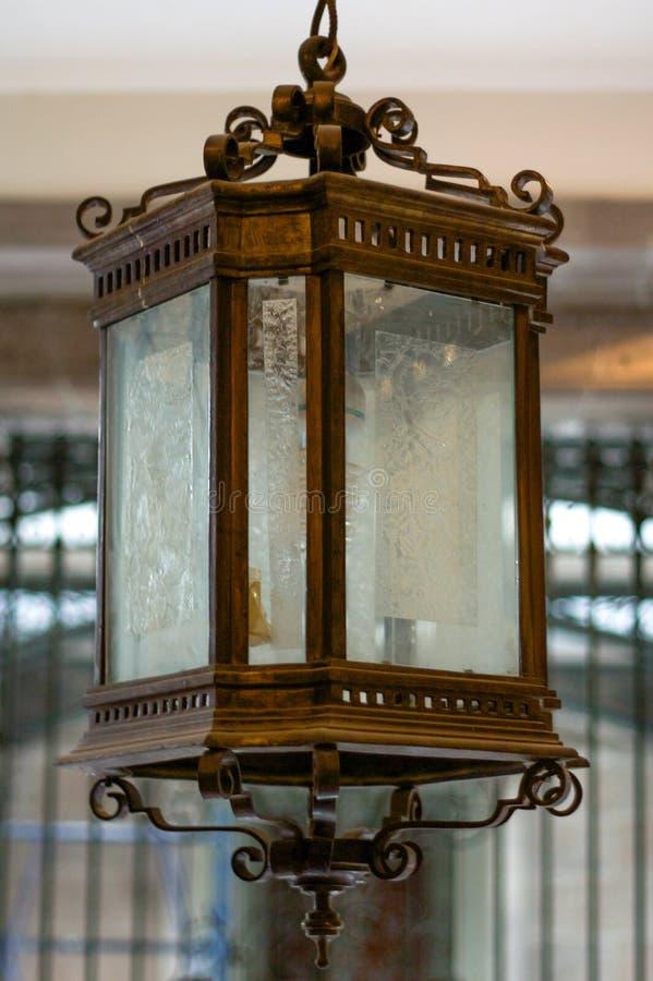 Linterna nacional DF Ciudad de México del palacio de Palacio Nacional foto de archivo