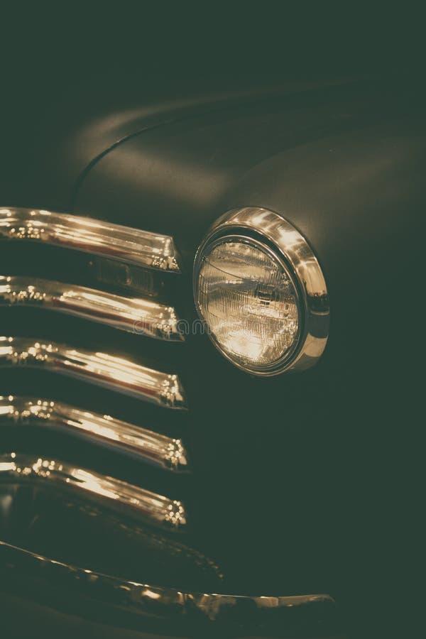 Linterna negra vieja del cami?n fotografía de archivo libre de regalías