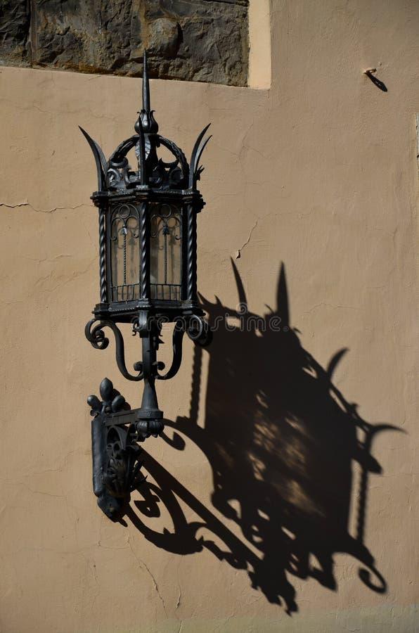 Linterna pública, Florencia imágenes de archivo libres de regalías