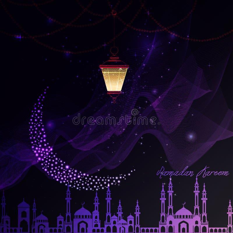 Linterna por un día de fiesta stock de ilustración