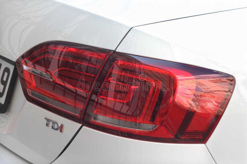 Linterna posterior del coche imagenes de archivo