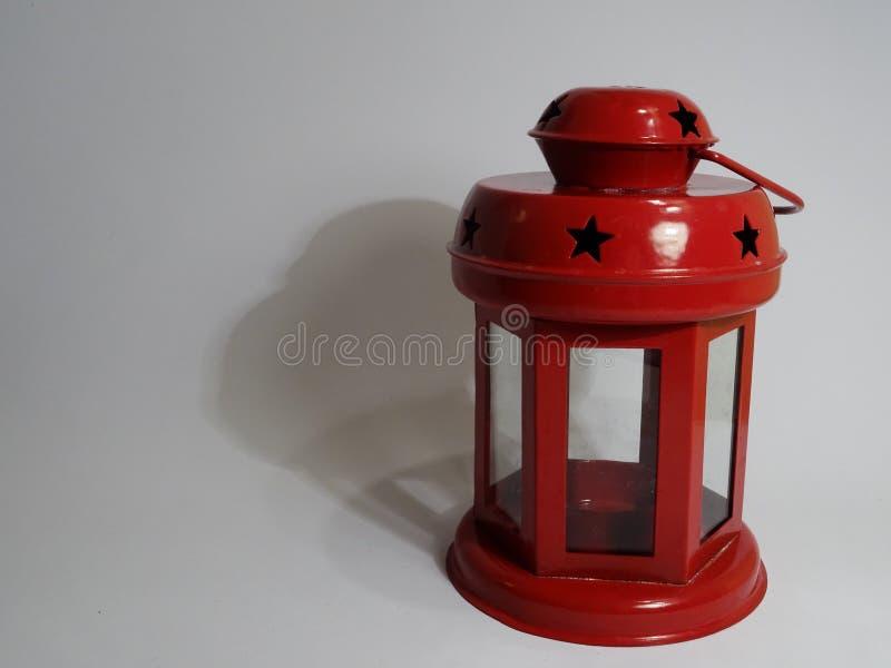 Linterna roja fotografía de archivo