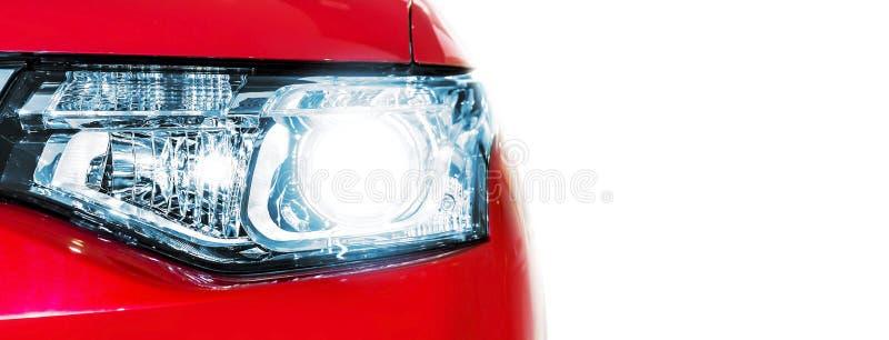 Linterna roja del coche fotos de archivo libres de regalías