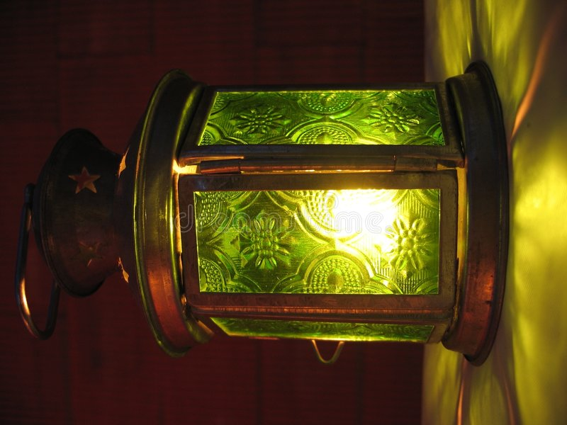 Linterna verde imágenes de archivo libres de regalías