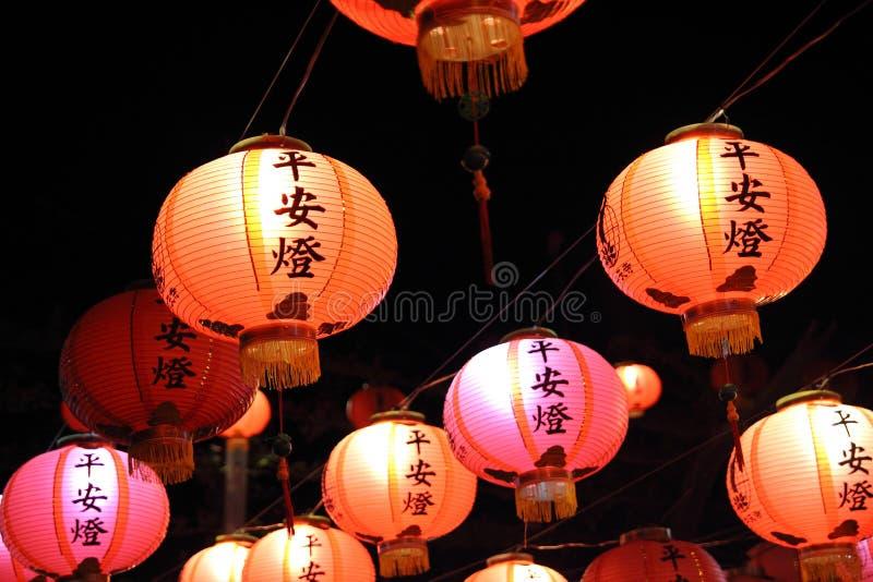 Linternas chinas imágenes de archivo libres de regalías