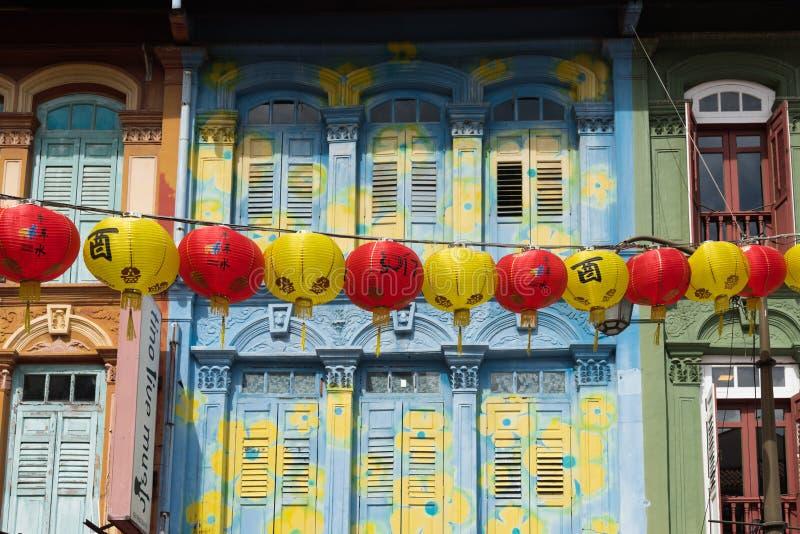 Linternas chinas fotos de archivo libres de regalías