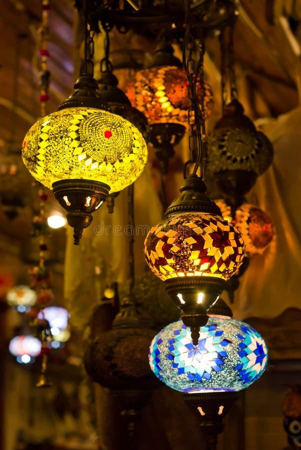 Linternas turcas foto de archivo