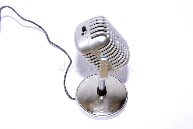 Lintmicrofoon royalty-vrije stock afbeeldingen
