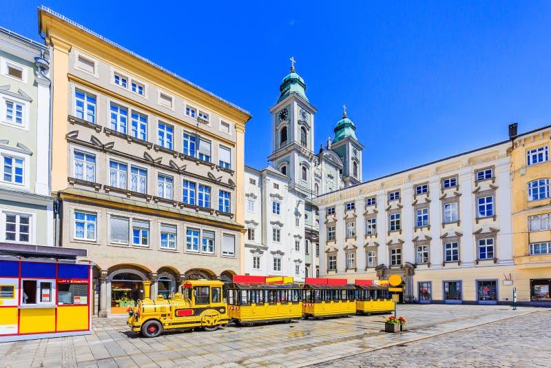 Linz, Österreich stockbilder
