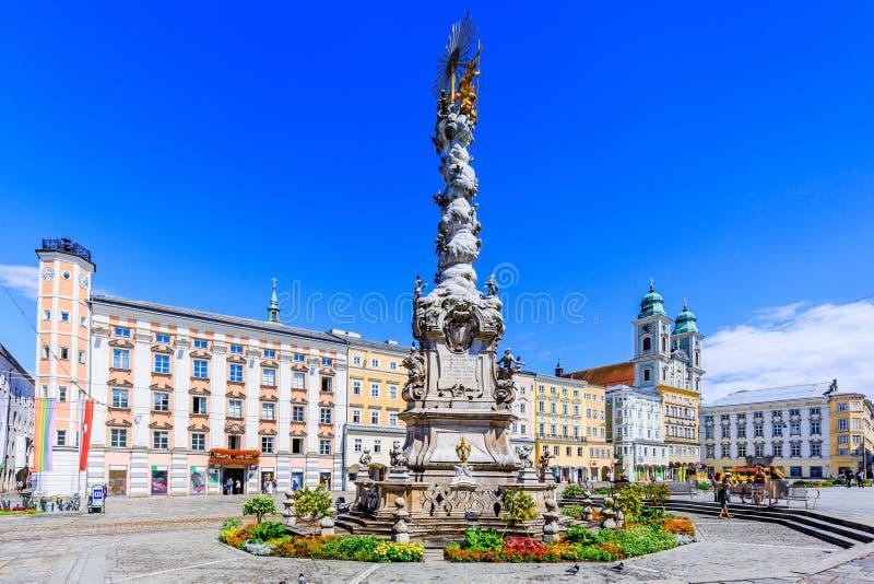 Linz, Österreich stockbild