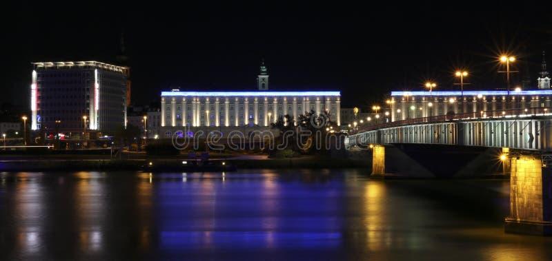 Linz Austria Donau zdjęcie royalty free