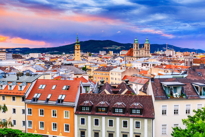 Linz, Austria. royalty free stock photography