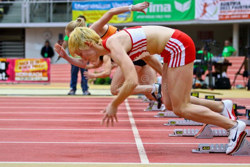 Download Linz Indoor Track And Field Meeting Editorial Image - Image: 18220020