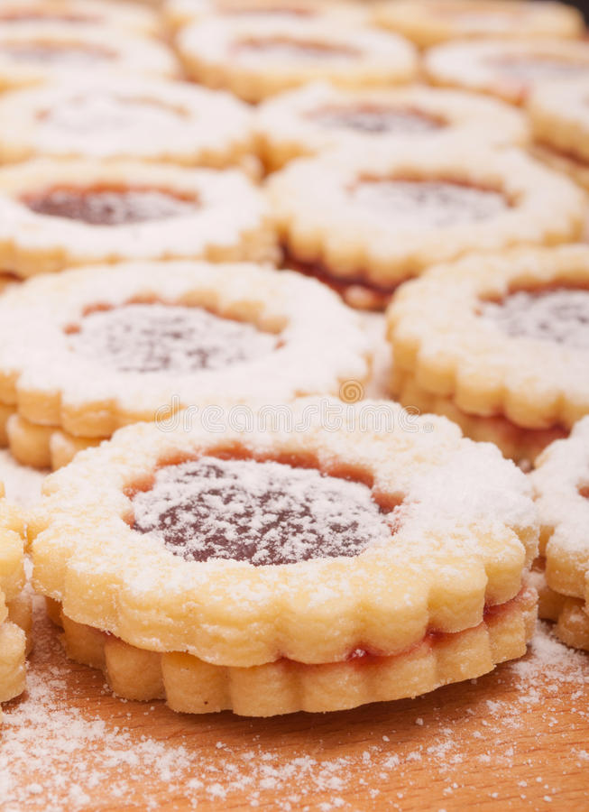 Free Linzer Cookies Royalty Free Stock Photo - 31035295
