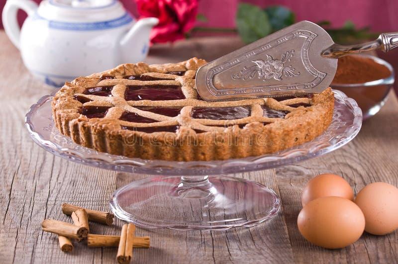 Linzer Torte. stockfotos