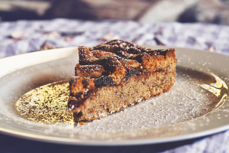 Linzer Torte royaltyfria foton